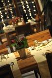 Luksusowa nowożytna salowa restauracja obraz royalty free