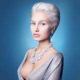 Luksusowa piękna kobieta Fotografia Royalty Free