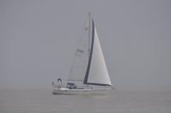 Luksusowa prędkości łódź na jeziornym Ontario Fotografia Royalty Free