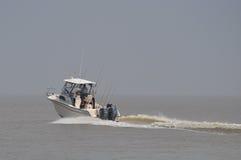Luksusowa prędkości łódź na jeziornym Ontario Fotografia Stock