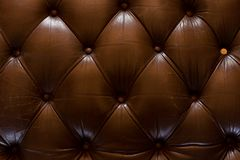 Luksusowa tekstura rzemienny meble Obraz Royalty Free