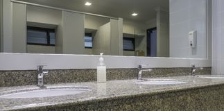 Luksusowa toaleta obrazy royalty free