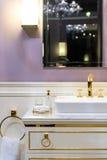 Luksusowa toaleta Zdjęcia Royalty Free