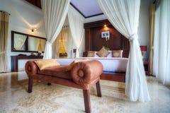 luksusowa tropikalna willa zdjęcia royalty free