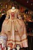 Luksusowa Wenecka suknia dla maskarady Zdjęcie Royalty Free