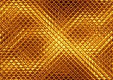 Luksusowa złota mozaika Zdjęcia Stock