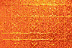 Luksusowa złota tekstura Zdjęcia Stock