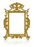 Luksusowa złoto rama Obraz Royalty Free