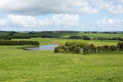 Luksusowa ziemia uprawna, Południowy Wiktoria, Australia Fotografia Royalty Free