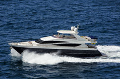 Luksusowe łodzie Fotografia Stock