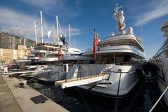 Luksusowe łodzie zdjęcia stock