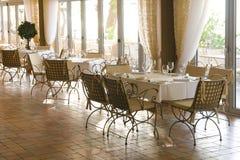 luksusowe restauracji Zdjęcia Stock
