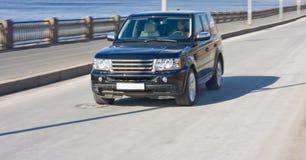 luksusowe samochodów kobieta Obraz Royalty Free