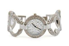 luksusowe zegarek kobieta fotografia stock