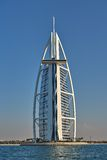 Luksusowego Hotelu Burj Al arab w Dubaj Obraz Royalty Free
