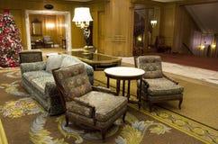 Luksusowego hotelu kuluarowy meble zdjęcie stock