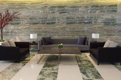 Luksusowego hotelu lobby Obraz Royalty Free
