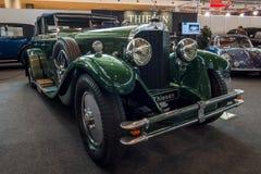 Luksusowego samochodowego Mercedes-Benz 630K ` La Baule Przekształcalny `, 1928 Obrazy Royalty Free