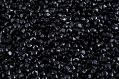 Luksusowi czarni biżuteria klejnoty zdjęcie stock