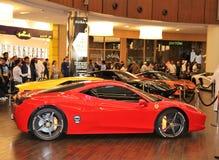 Luksusowi egzotyczni samochody dla sprzedaży obrazy royalty free