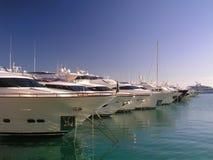 luksusowi jachty Zdjęcia Royalty Free