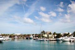 Luksusowi jachty przy letnim dniem Zdjęcie Stock