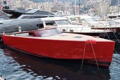 Luksusowi jachty w Monaco Monte, Carlo schronieniu - Zdjęcia Stock