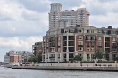 Luksusowi kondominia w Baltimore Zdjęcia Stock