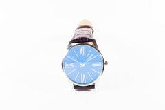 Luksusowi mężczyzna i kobieta zegarek w białym tle Obraz Stock