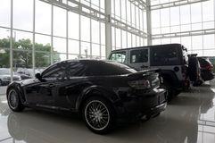 Luksusowi samochody fotografia stock