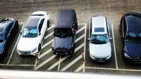 Luksusowi samochody w Hamburg Zdjęcia Stock