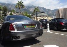 Luksusowi samochody w Montecarlo, Monaco Obraz Stock