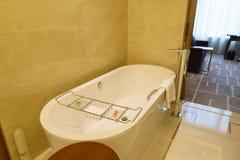 Luksusowy łazienki wnętrze Zdjęcie Stock