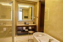 Luksusowy łazienki wnętrze Fotografia Stock