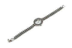 Luksusowy żeński zegarek zdjęcia royalty free