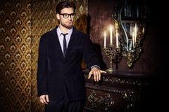 Luksusowy życie mężczyzna Fotografia Royalty Free