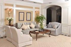 Luksusowy żywy izbowy urządzenie domu fitment meble dopasowanie obrazy royalty free
