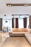 Luksusowy żywy izbowy wnętrze Zdjęcie Stock