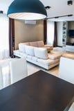 Luksusowy żywy izbowy wnętrze Obrazy Royalty Free