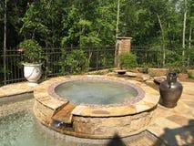 luksusowy 1 basen Obraz Royalty Free