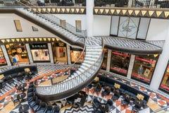 Luksusowy art deco stylu zakupy centrum handlowe w Berlin Obrazy Royalty Free