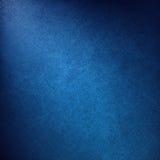 Luksusowy błękitny tło z eleganckim bielu kąta oświetleniem i rocznik kanwy teksturą Zdjęcie Royalty Free