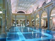 luksusowy basenu obraz royalty free