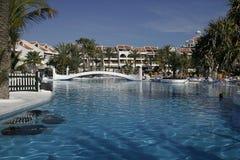 luksusowy basenu Zdjęcia Royalty Free
