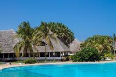 Luksusowy bungalow blisko basenu Fotografia Royalty Free