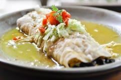 Luksusowy Burrito lub tłamszący burrito Obrazy Royalty Free