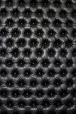 Luksusowy czarny błyszczący rzemienny tekstura meble, świetlicowa rozrywka zdjęcie royalty free