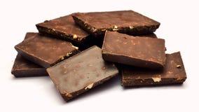 Luksusowy czekoladowy łasowanie Zdjęcia Stock