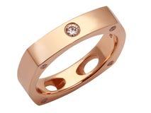 Luksusowy diamentowy pierścionek zdjęcia stock
