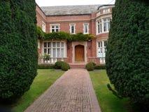 Luksusowy domowy wejście Fotografia Royalty Free